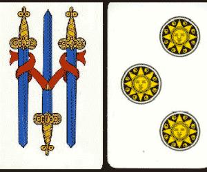 Tre carte napoletane